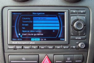 Latest 2015 Sat Nav DVD Disc Update for Audi RNS-E